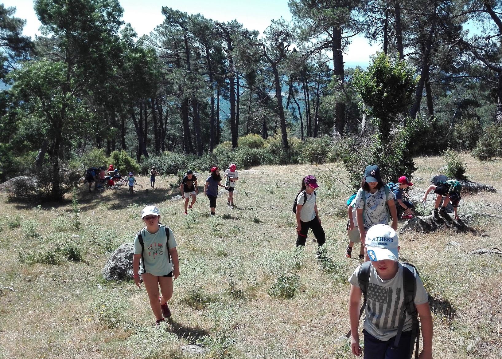Campamento de Verano en San Lorenzo de Escorial